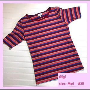 nwt llr gigi stripes